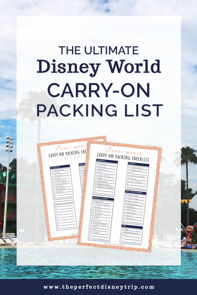graphic about You Re Going to Disney World Printable named The Greatest Disney Planet Deliver-Upon Packing Checklist + Totally free