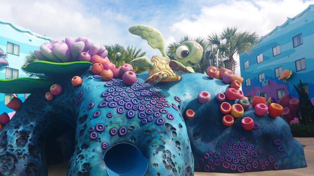 Disney's Art of Animation Resort Finding Nemo Building