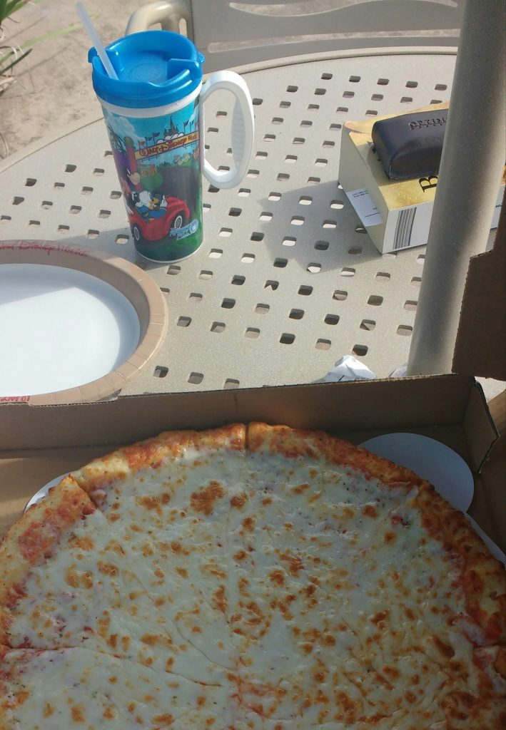 Refillable Mug Pizza