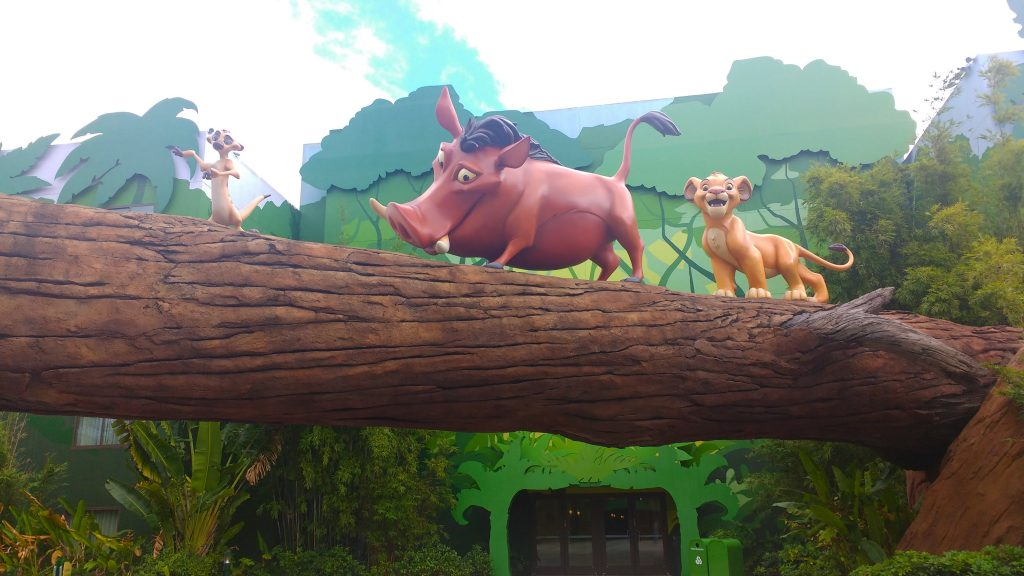 Disney's Art of Animation Resort Lion King Building