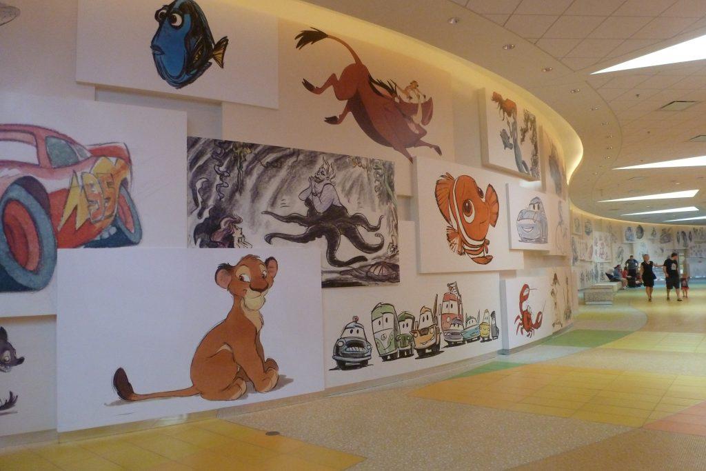 Disney's Art of Animation Resort Lobby
