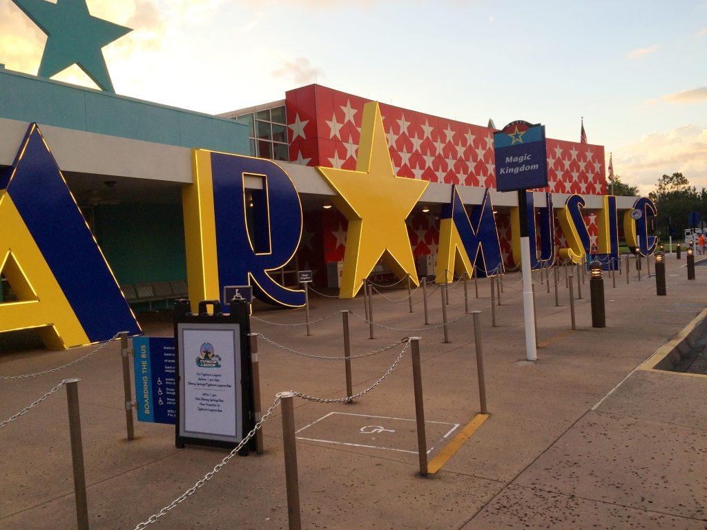 All Star Music Entrance