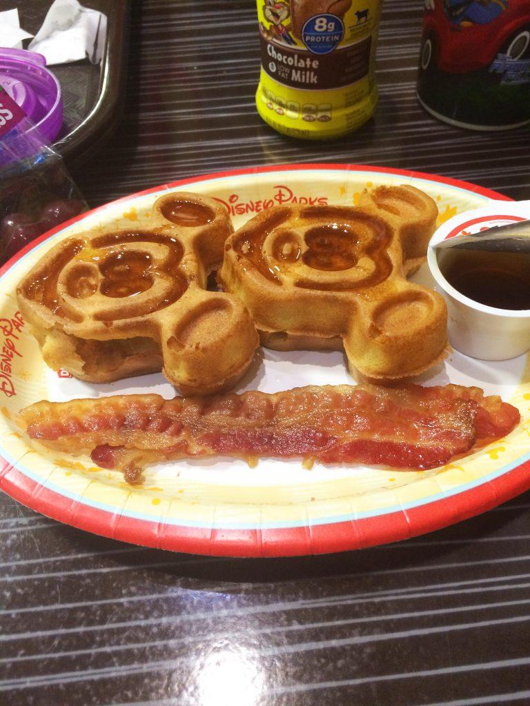 All Star Music Mickey Waffles