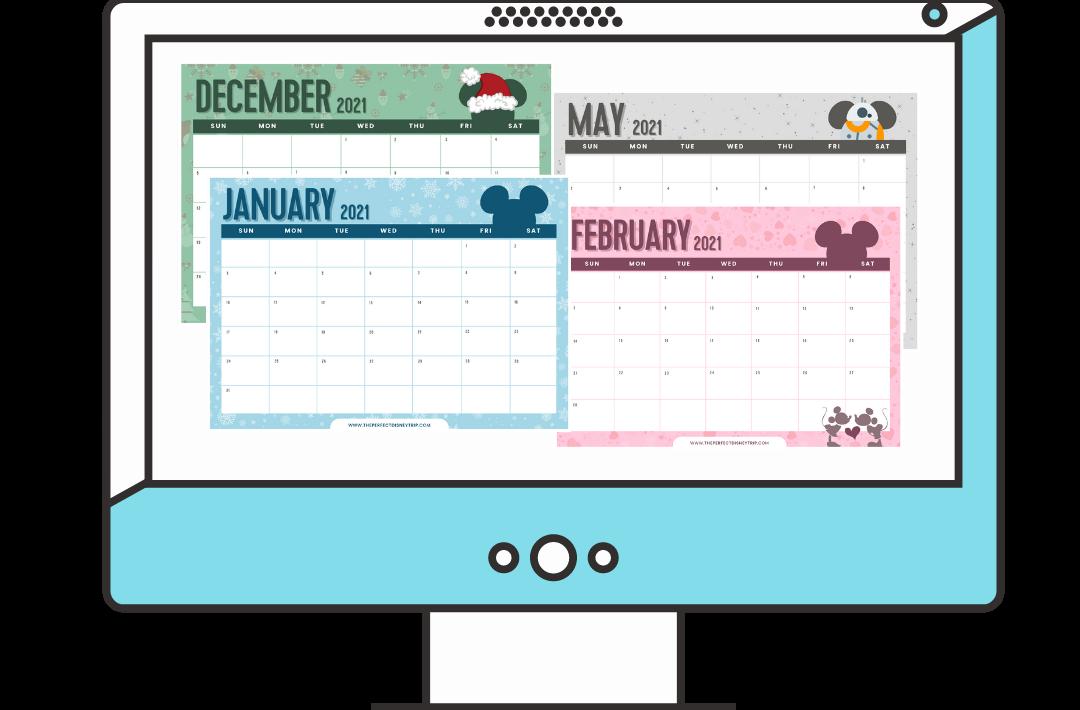 Free 2021 Disney Calendar