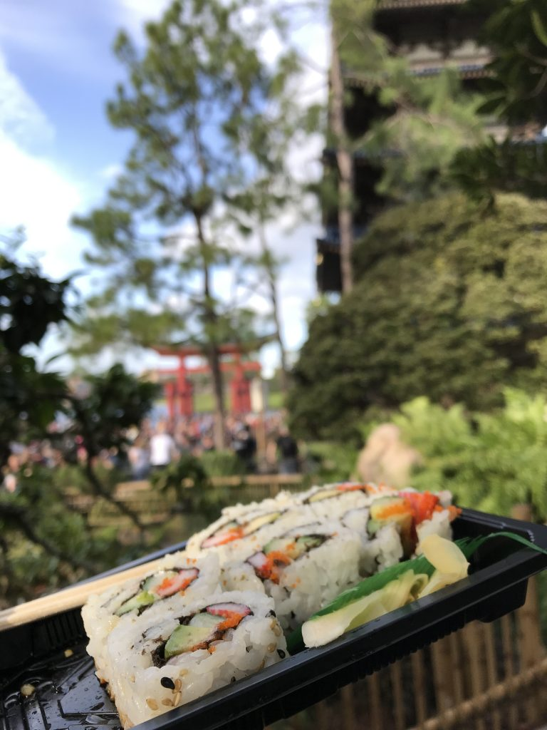 food at japan pavilion epcot