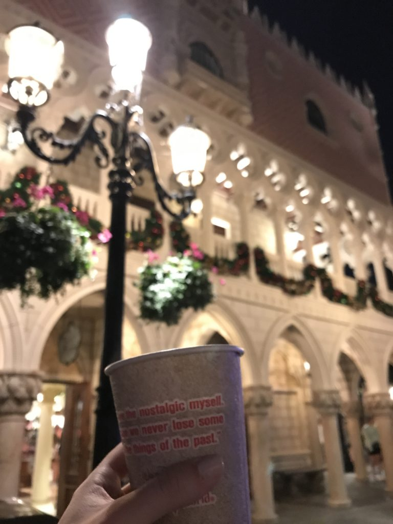 coffee at italy  pavilion epcot